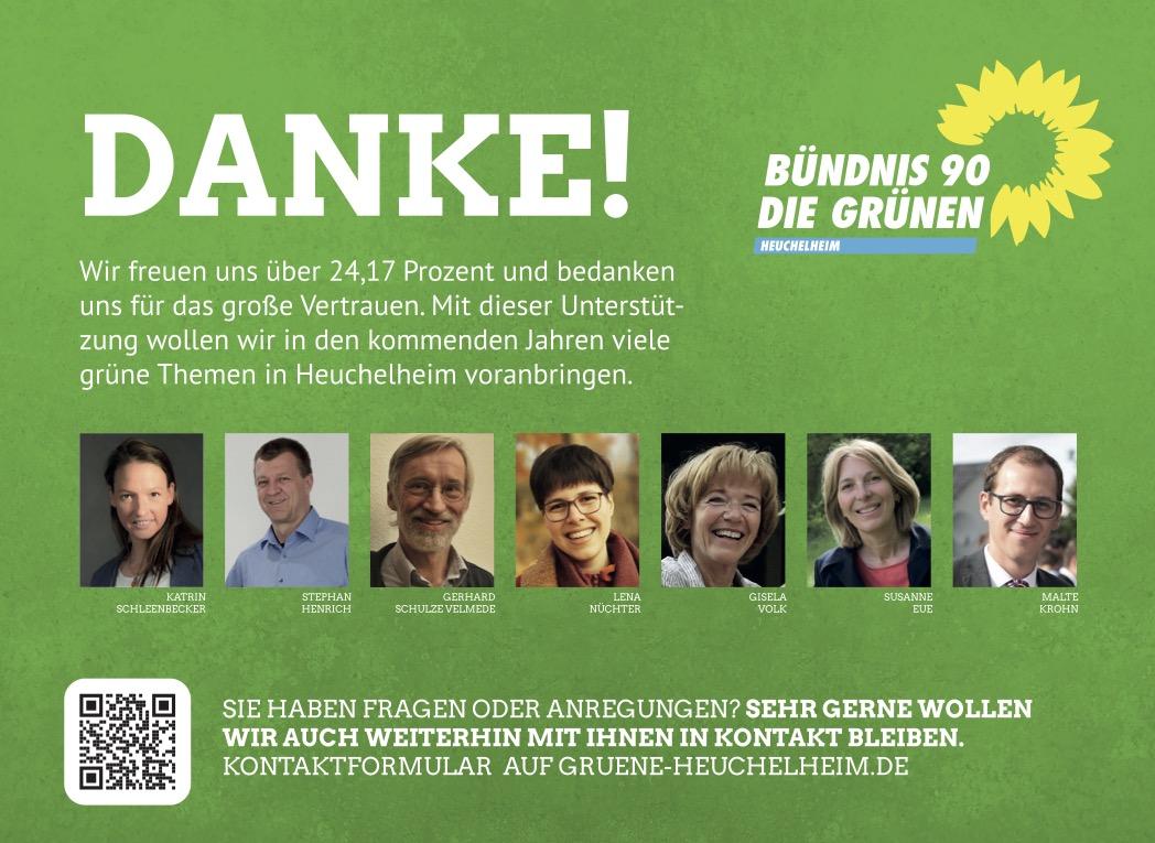 Kommunalwahl 2021: Danke!